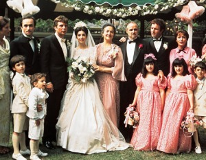 The Godfather wedding